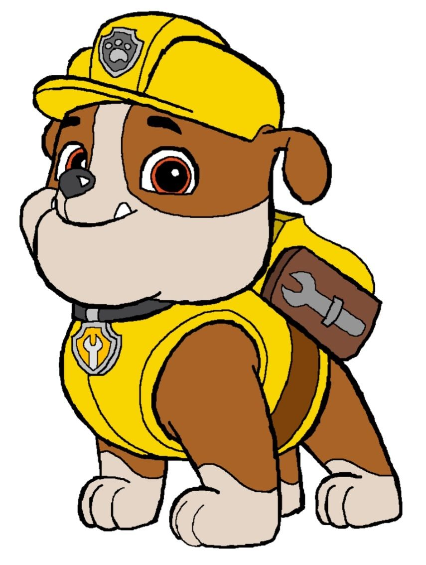 Patrol clipart cartoon. Badges paw and party