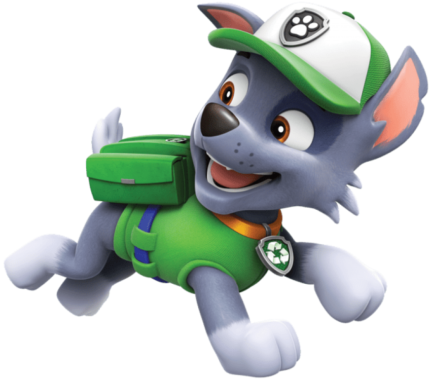 Patrol clipart cartoon. Download paw rocky png