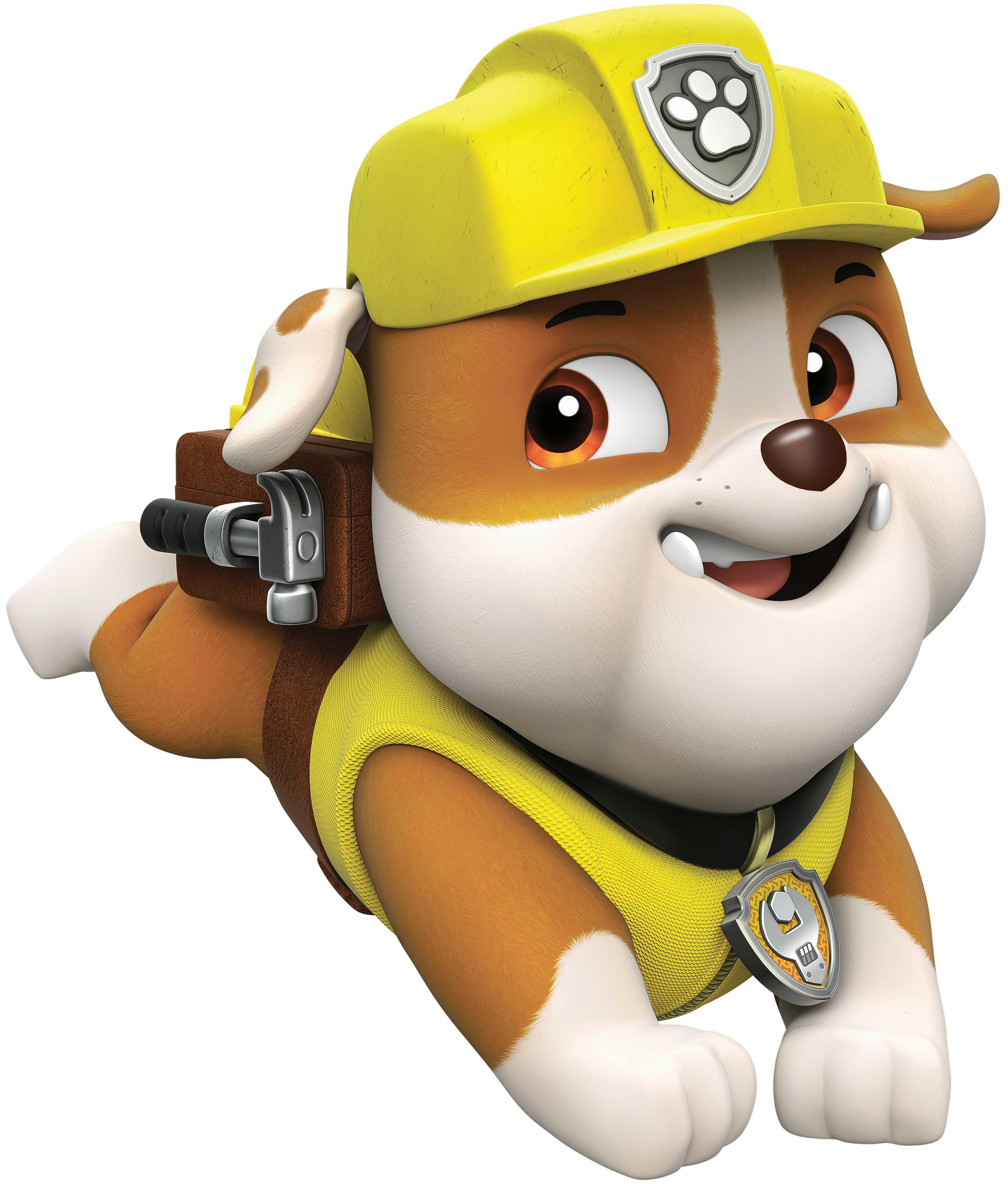 rubble paw patrol png