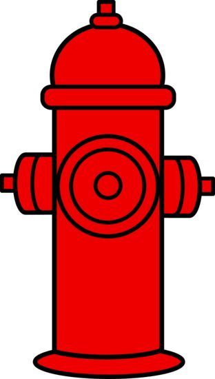Patrol clipart fire. Red hydrant paw party