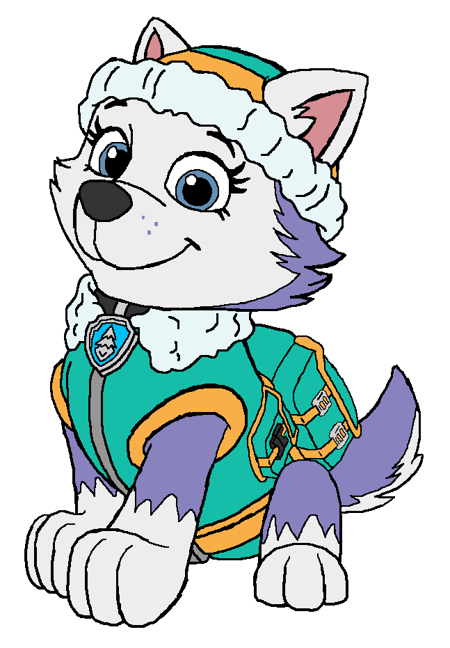Patrol clipart paw patrol. Everest gallery by amy