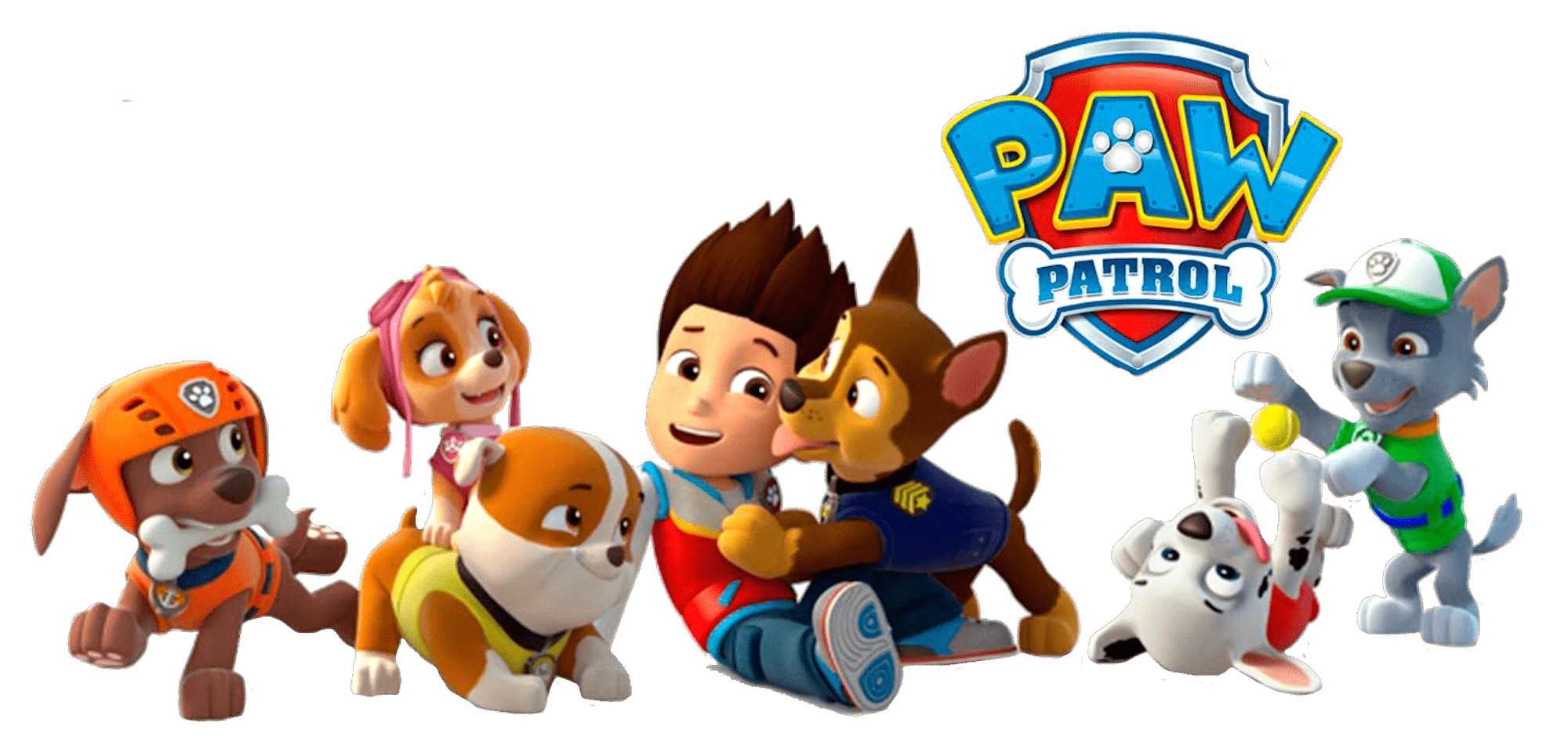Patrol clipart paw patrol. Ryder with chase png