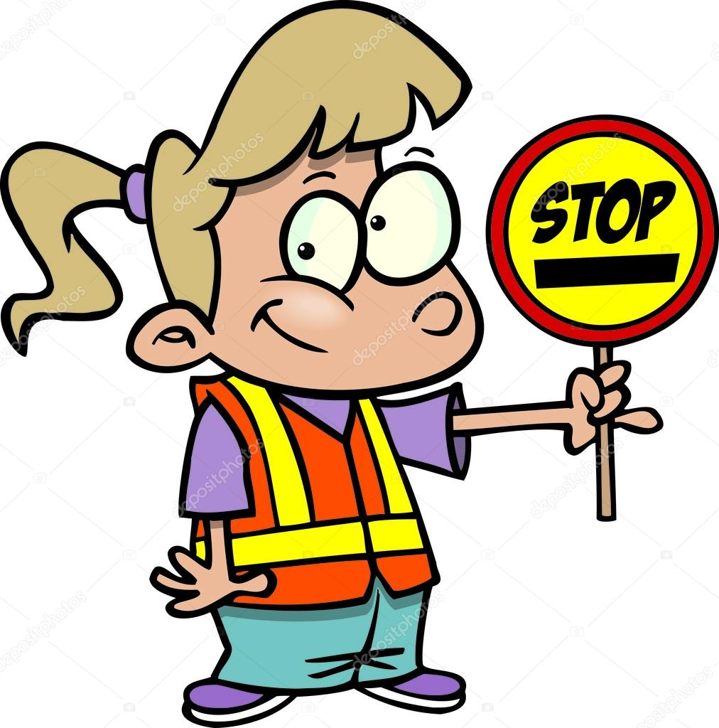 patrol clipart street safety