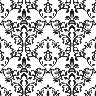 Bee damask . Pattern clipart jpg freeuse library