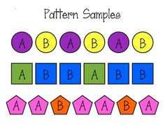 Pattern clipart kindergarten. Numbers and patterns playing