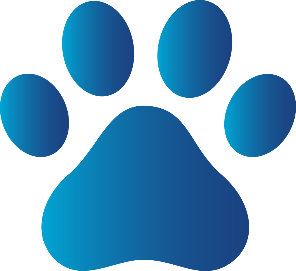 pawprint svg clip art dog