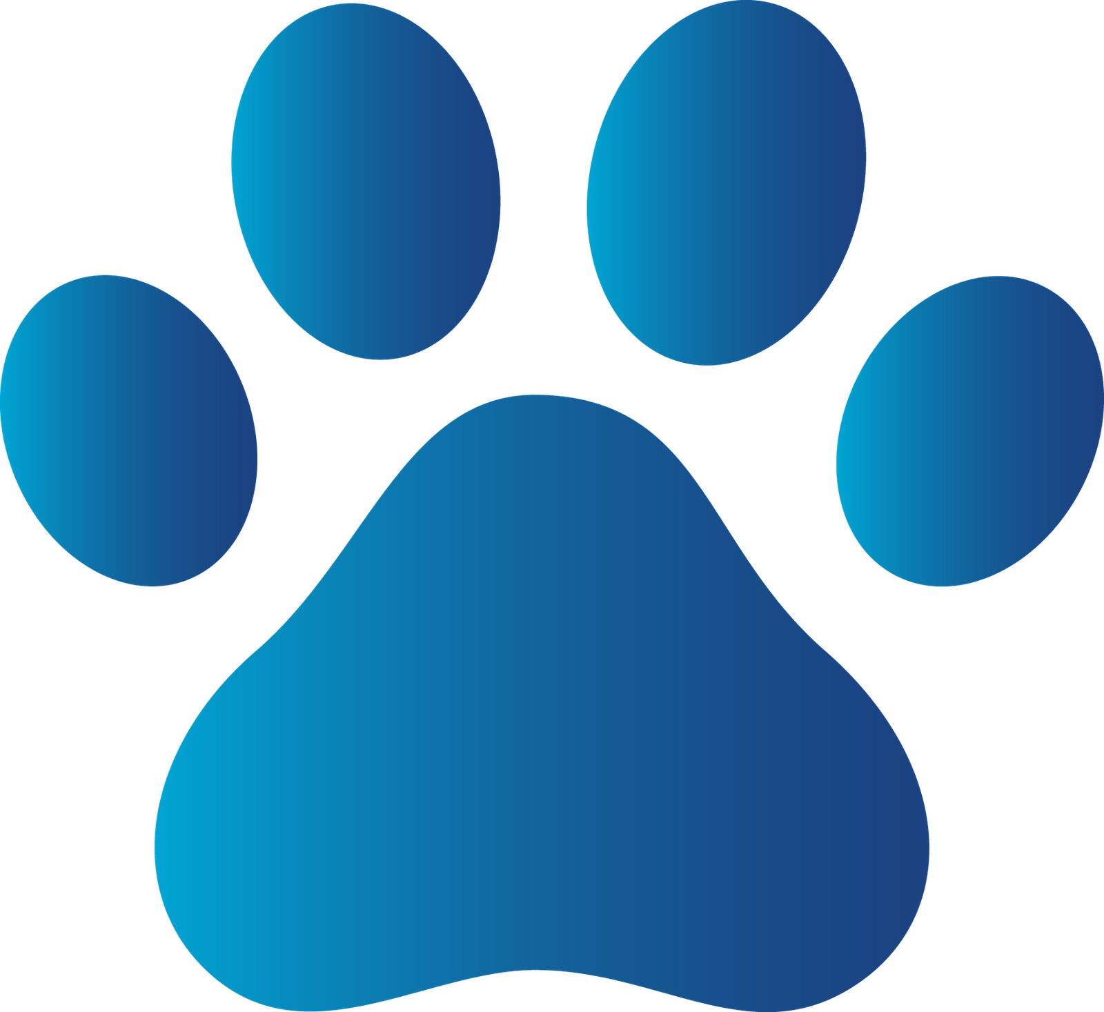 Paw clip art animal. Canine connections stop abuse