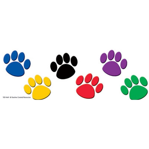 Paw clip art colorful. Dog clipart cilpart first