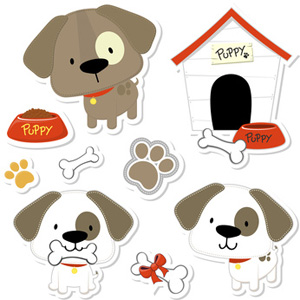 Dogs house bones dog. Paw clip art doggie image library stock