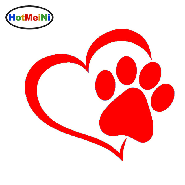 Hotmeini lovely dog cat. Paw clip art heart shaped clip art free library