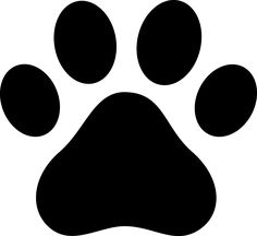 Paw clip art paw print. Two dog prints pictures