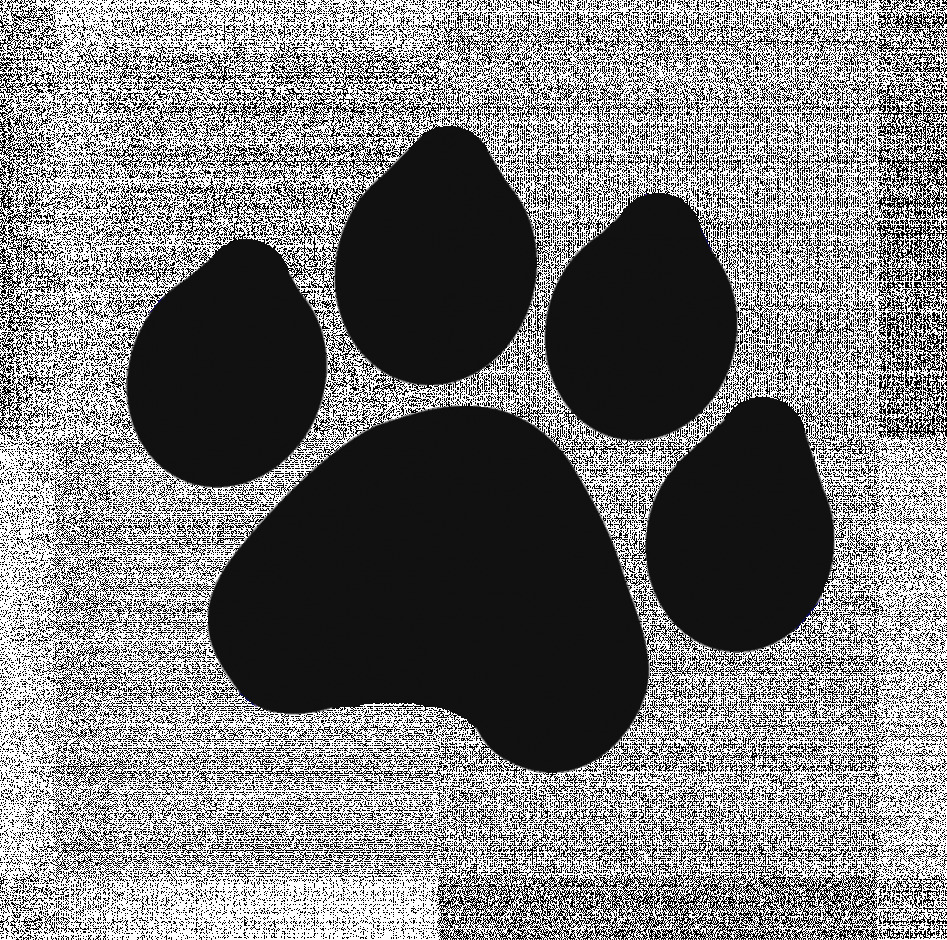 Paw clip art paw print. Images dog free download
