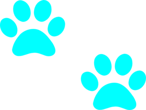 Paw clip art puppy. Print at clker com