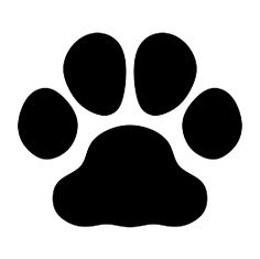 Paw clip art silhouette. Pin by muse printables