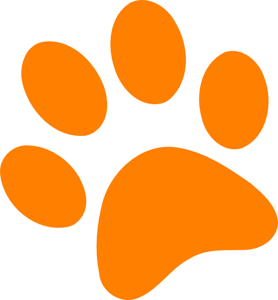 Port hardy animal shelter. Paw clip art colorful image freeuse download