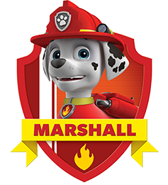 Marshall from paw patrol png. S official website prev