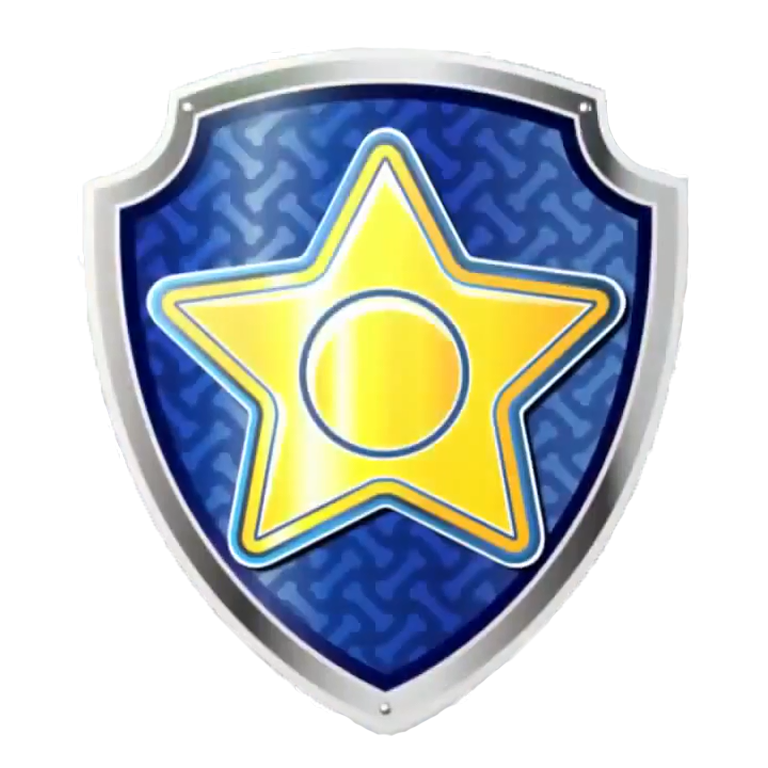 Paw patrol badge png. Image chase s pup
