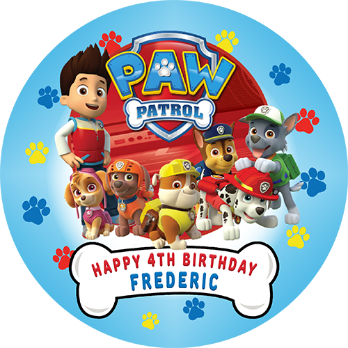 Paw patrol birthday png. Transparent images