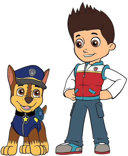Paw patrol ryder png. Clip art cartoon about