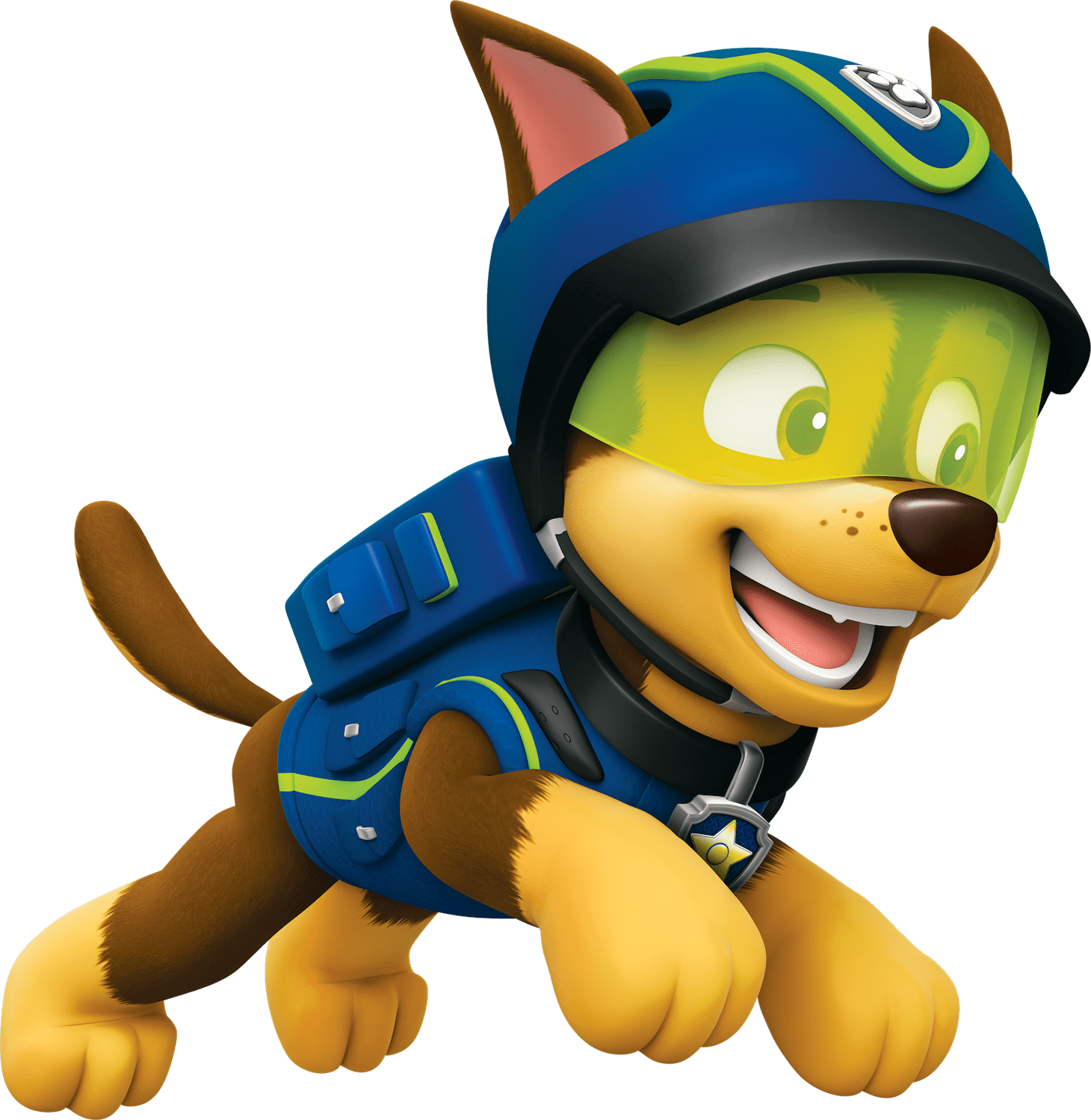 Paw patrol chase png. Jump clipart