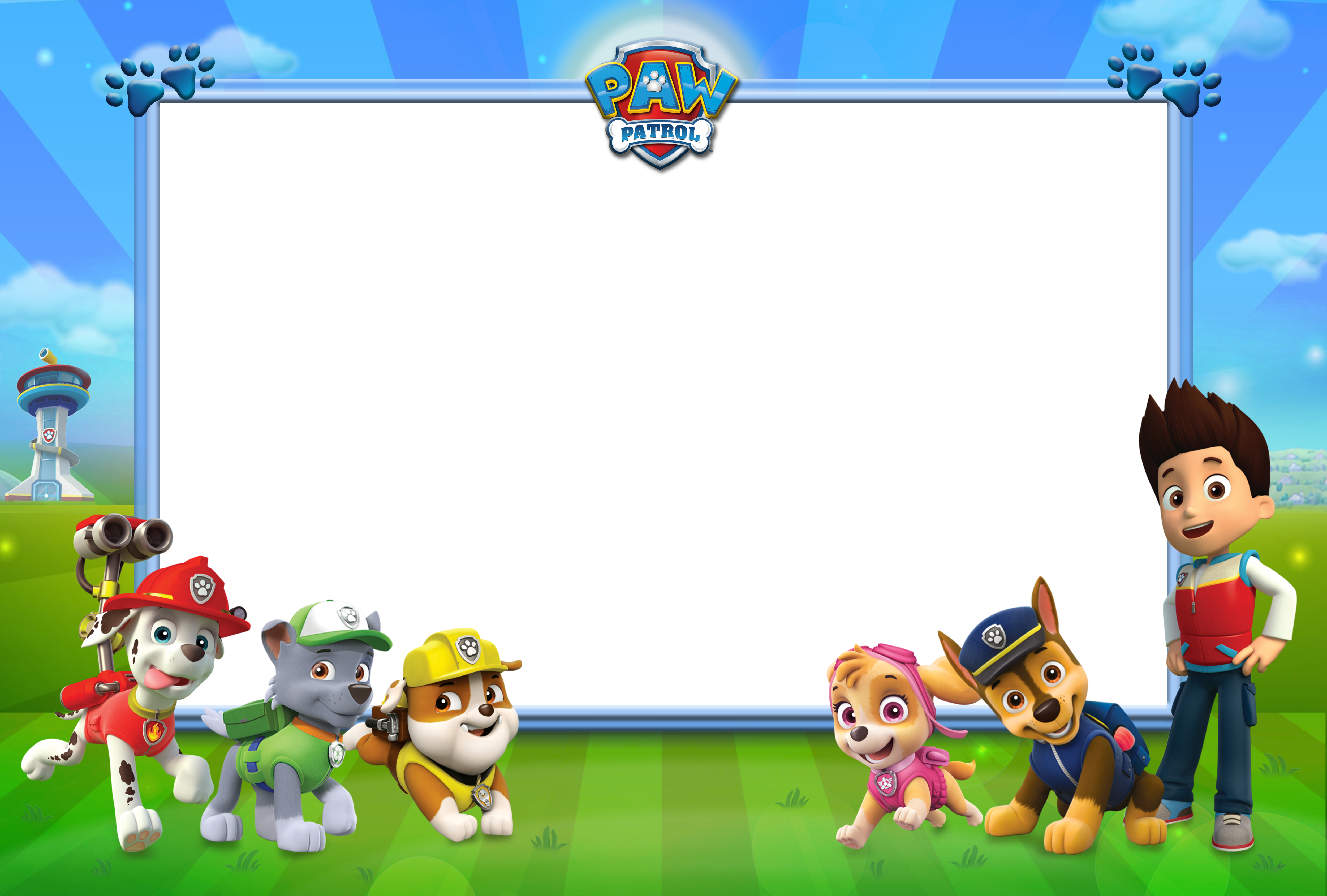 Png backgrounds for kids. Paw patrol transparent photo