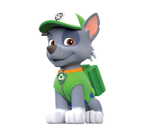 Paw patrol rubble png. Rocky character main x