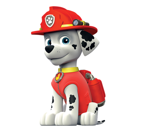Paw patrol dogs png. Marshall nickelodeon fandom powered