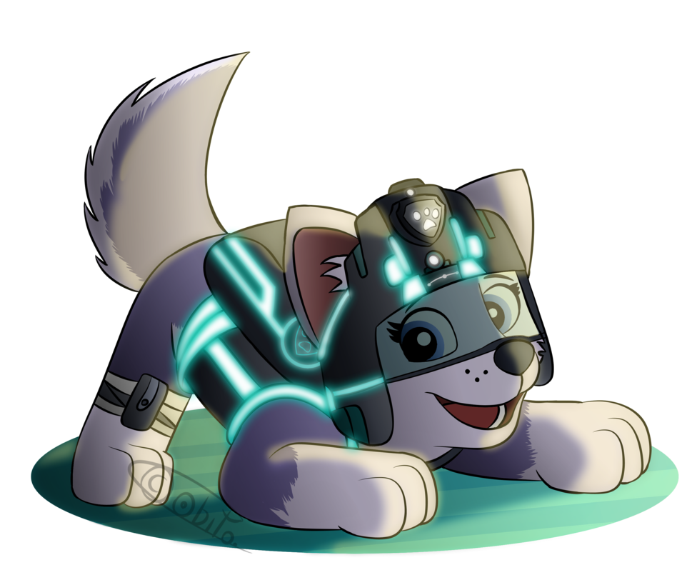 Paw patrol everest png. Mission paws by ao
