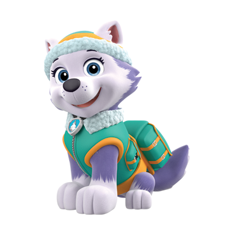 Paw patrol everest png. Stickylickits stickers you can