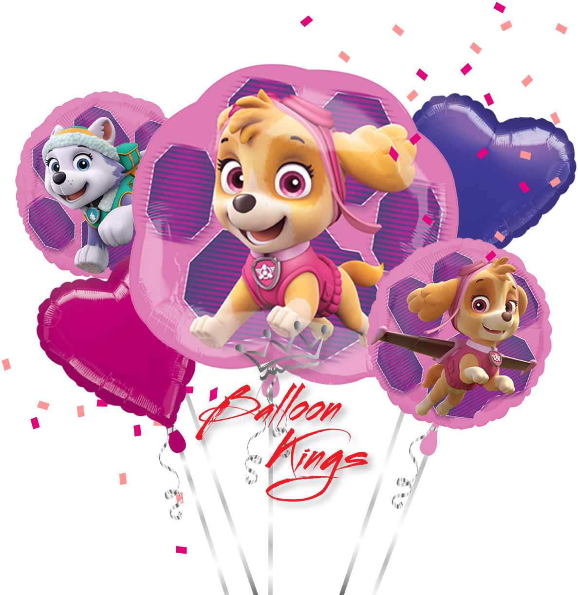 Paw patrol everest png. Download hd skye balloons
