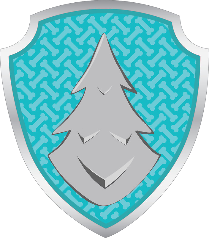 Paw patrol everest png. Tag symbol party pinterest