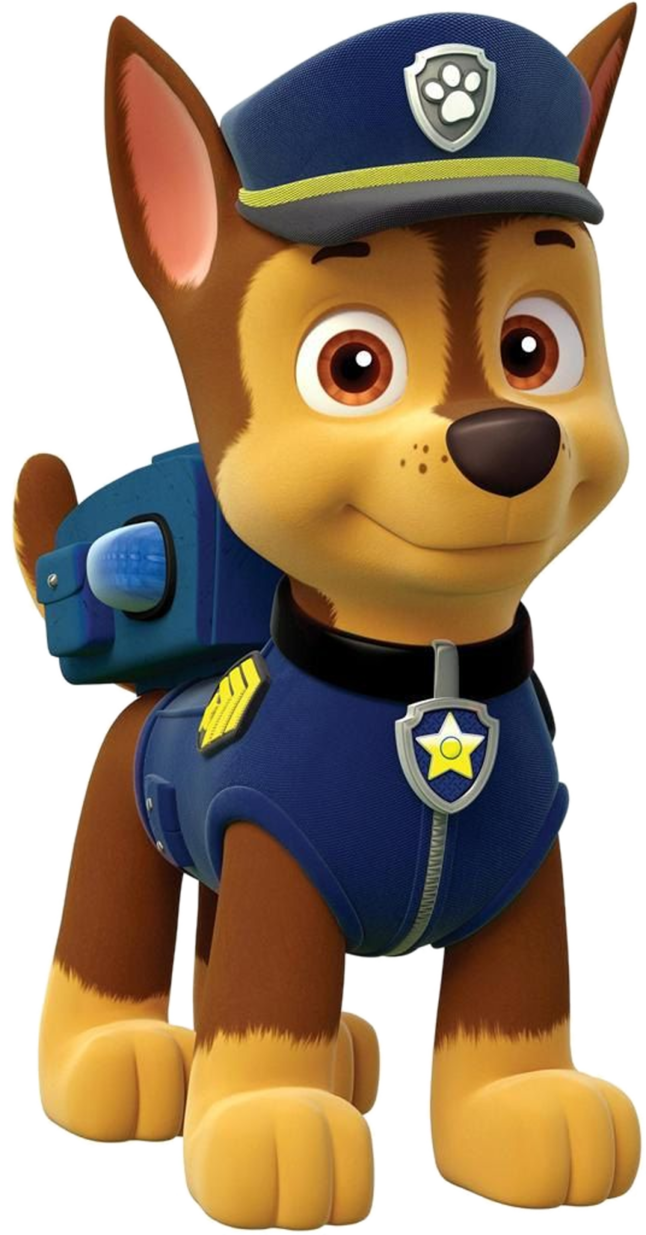 Paw patrol chase png. Poses by kaylor on