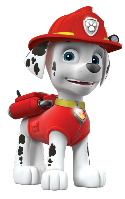 Paw patrol marshall png. Braxton on a roll