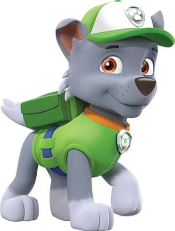 Paw patrol personajes png. Rocky poses by kaylor