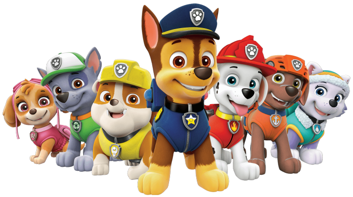 Paw patrol personajes png. All characters festas pinterest