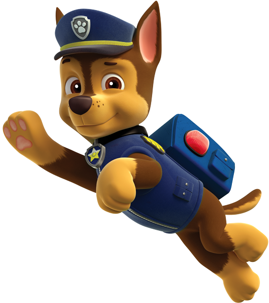 Paw patrol png clipart. Image pic chase adventures