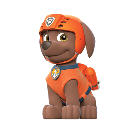 Paw patrol png transparent. Zuma stickpng at the
