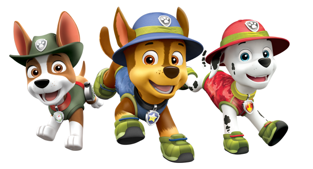 Paw patrol pups png. Image videos adventures of