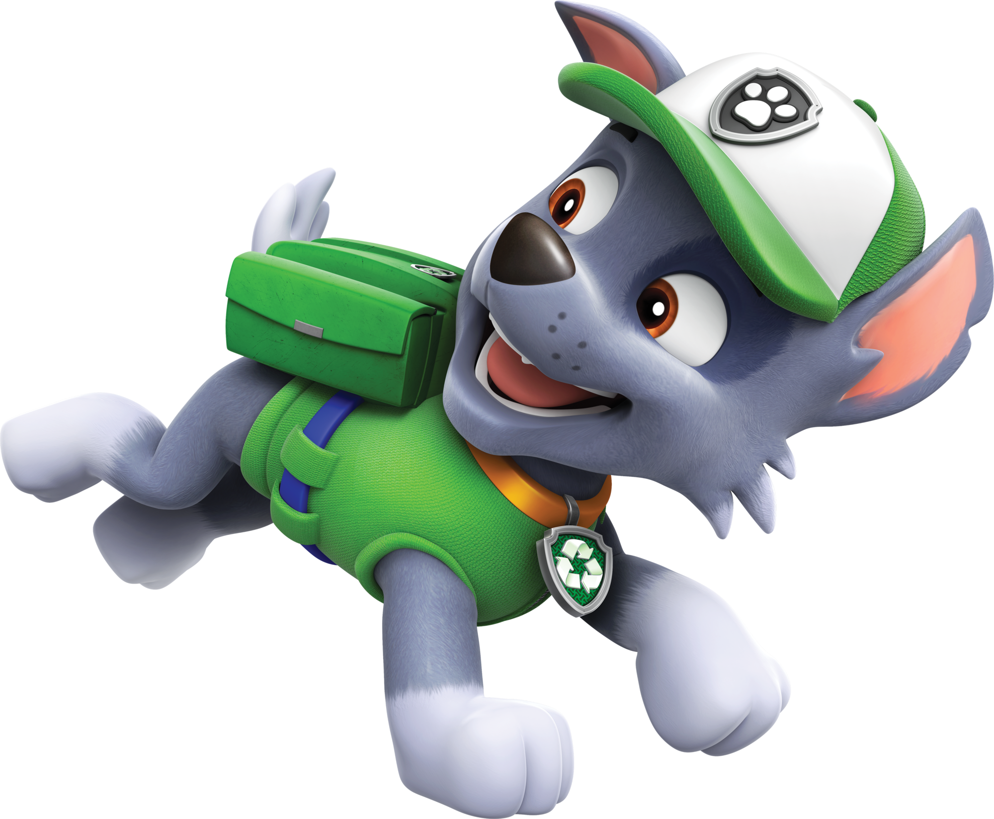 Paw patrol rocky png. Image running fanon wiki