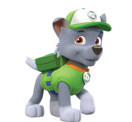 Paw patrol rubble wrench png. Rocky adventures of the
