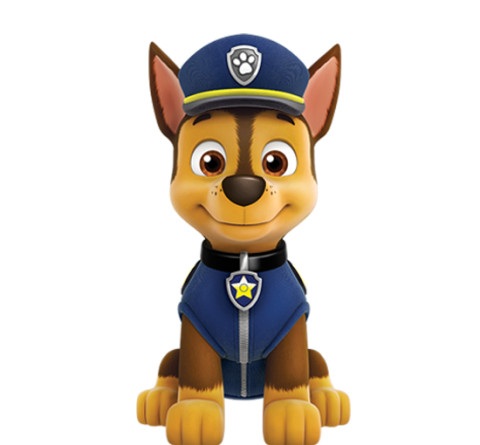 chase paw patrol png
