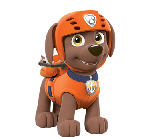 Paw patrol rubble black and white png. Zuma nick asia free