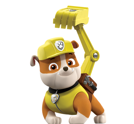 Rubble png. Image paw patrol nick graphic transparent stock