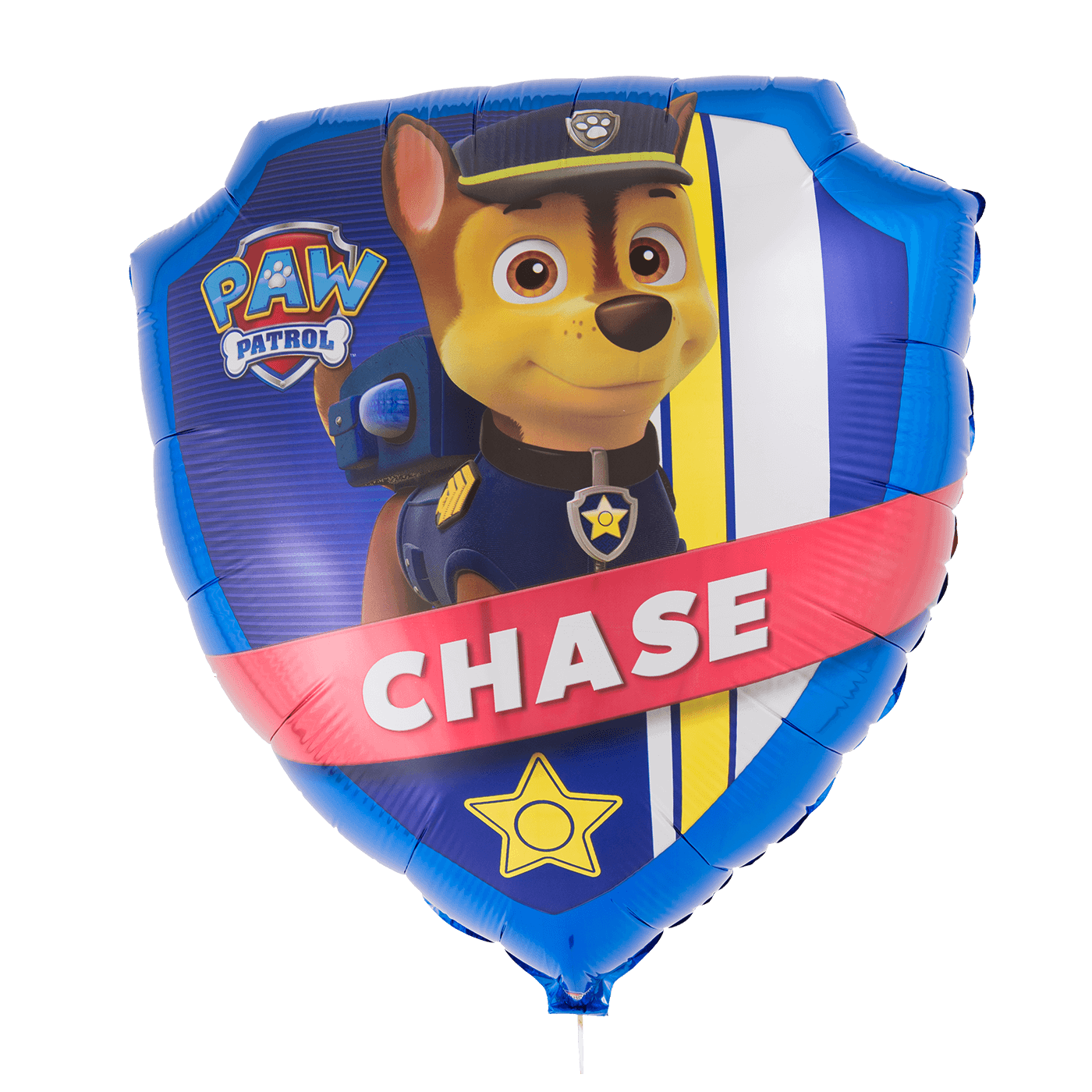 Paw patrol shield png. Supershape tether float chase