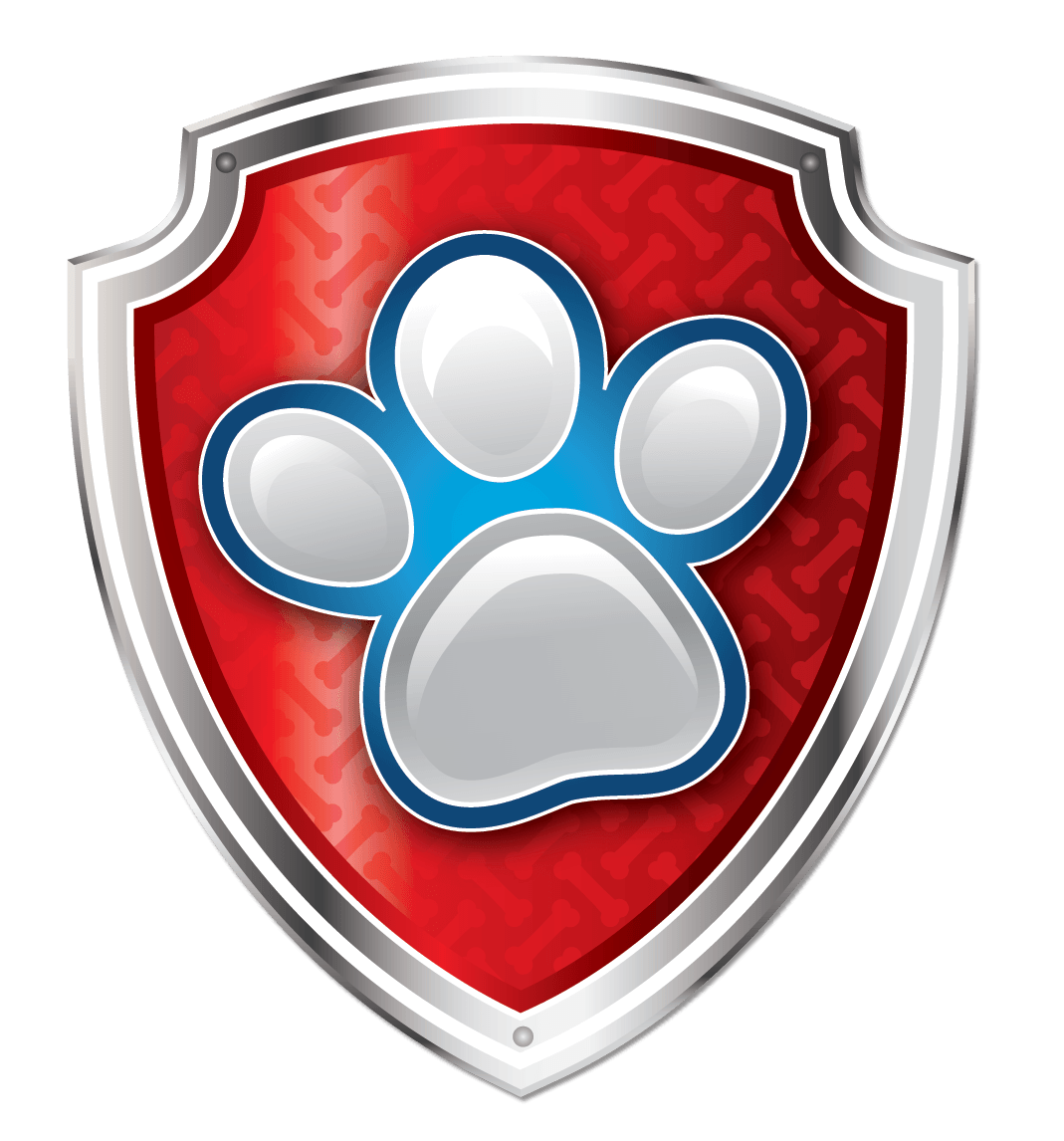 Paw patrol shield png. Puppy badge sea pups