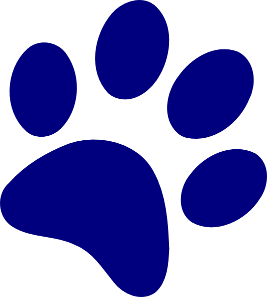 blue paw png
