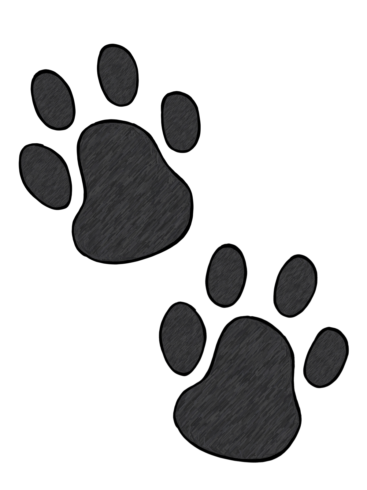 Ferret vector mlp dog. Free paw print pictures