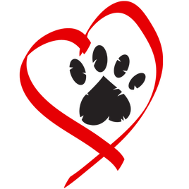 Pics for print tattoo. Dog paw heart png png