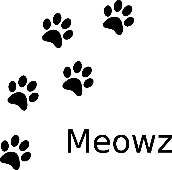 Pawprint clipart silhouette. Paw print at getdrawings
