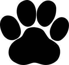 Pawprint clipart svg. Paw print file royalty